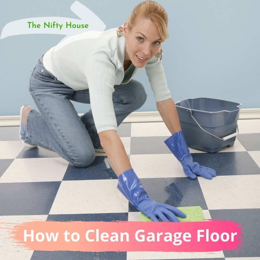 How To Clean Garage Floor