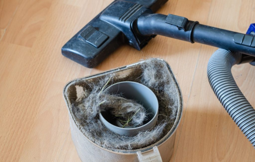 How To Clean Dust Container