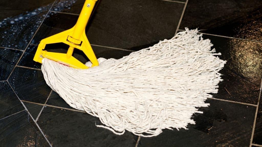 mop head for waxing floors
