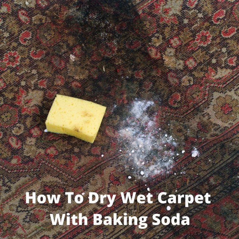 How To Dry Wet Carpet With Baking Soda