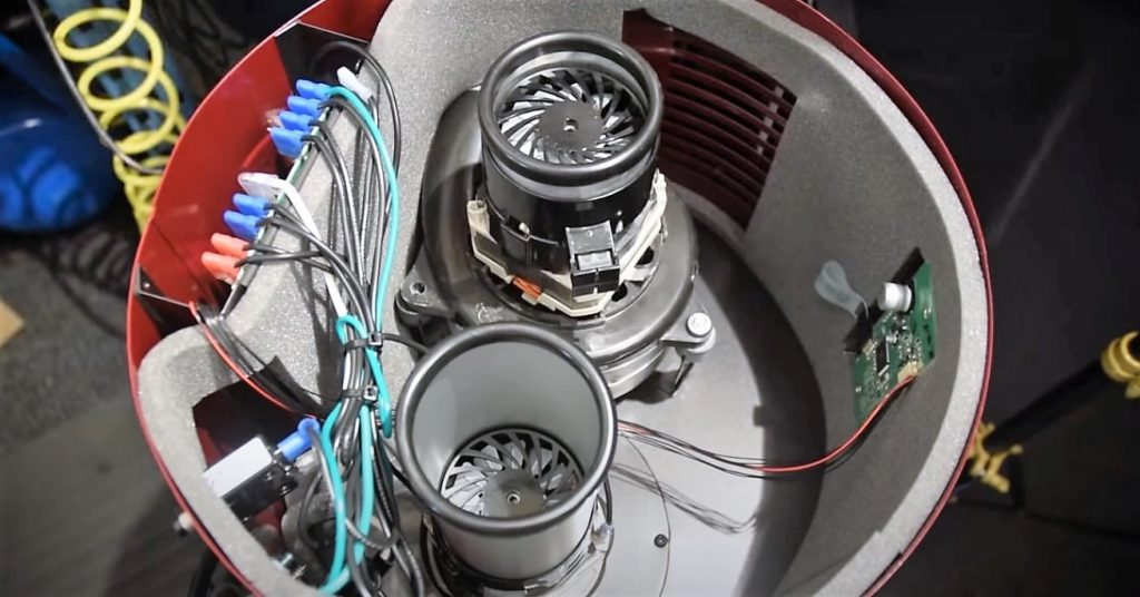 how to test a central vacuum motor